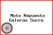 Moto Repuesto Galeras Sucre