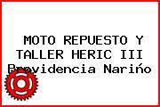 MOTO REPUESTO Y TALLER HERIC III Providencia Nariño