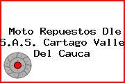 Moto Repuestos Dle S.A.S. Cartago Valle Del Cauca