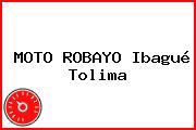 MOTO ROBAYO Ibagué Tolima