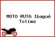 MOTO RUTA Ibagué Tolima