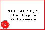 MOTO SHOP D.C. LTDA. Bogotá Cundinamarca