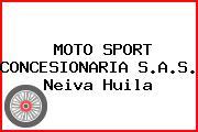 MOTO SPORT CONCESIONARIA S.A.S. Neiva Huila