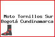 Moto Tornillos Sur Bogotá Cundinamarca