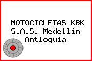 MOTOCICLETAS KBK S.A.S. Medellín Antioquia