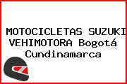 MOTOCICLETAS SUZUKI VEHIMOTORA Bogotá Cundinamarca