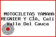 MOTOCILETAS YAMAHA REGNIER Y CÍA. Cali Valle Del Cauca