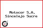 Motocor S.A. Sincelejo Sucre