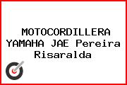 MOTOCORDILLERA YAMAHA JAE Pereira Risaralda