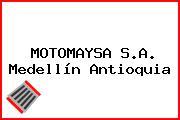 MOTOMAYSA S.A. Medellín Antioquia