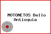 MOTONETOS Bello Antioquia