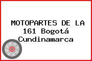 MOTOPARTES DE LA 161 Bogotá Cundinamarca
