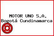 MOTOR UNO S.A. Bogotá Cundinamarca