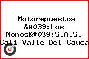 Motorepuestos 'Los Monos'S.A.S. Cali Valle Del Cauca