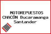 MOTOREPUESTOS CHACÓN Bucaramanga Santander