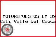 MOTOREPUESTOS LA 39 Cali Valle Del Cauca