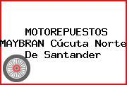 MOTOREPUESTOS MAYBRAN Cúcuta Norte De Santander