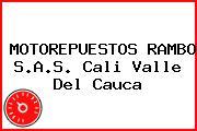 MOTOREPUESTOS RAMBO S.A.S. Cali Valle Del Cauca