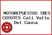MOTOREPUESTOS TRES COYOTES Cali Valle Del Cauca