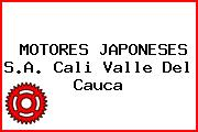 MOTORES JAPONESES S.A. Cali Valle Del Cauca