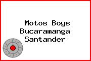 Motos Boys Bucaramanga Santander