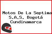 Motos De La Septima S.A.S. Bogotá Cundinamarca