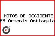 MOTOS DE OCCIDENTE FB Armenia Antioquia