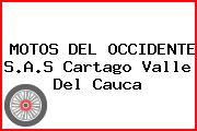 MOTOS DEL OCCIDENTE S.A.S Cartago Valle Del Cauca