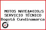 MOTOS NAYE'S SERVICIO TÉCNICO Bogotá Cundinamarca