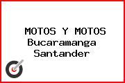MOTOS Y MOTOS Bucaramanga Santander