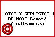 MOTOS Y REPUESTOS 1 DE MAYO Bogotá Cundinamarca