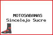 MOTOSABANAS Sincelejo Sucre