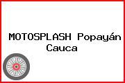 MOTOSPLASH Popayán Cauca