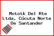 Mototk Del Rte Ltda. Cúcuta Norte De Santander