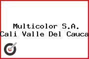 Multicolor S.A. Cali Valle Del Cauca