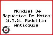 Mundial De Repuestos De Motos S.A.S. Medellín Antioquia