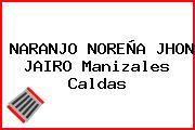 NARANJO NOREÑA JHON JAIRO Manizales Caldas