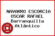 NAVARRO ESCORCIA OSCAR RAFAEL Barranquilla Atlántico