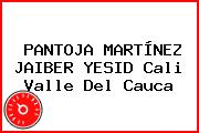 PANTOJA MARTÍNEZ JAIBER YESID Cali Valle Del Cauca