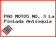PAO MOTOS NO. 3 La Pintada Antioquia