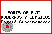 PARTS APLENTY - MODERNOS Y CLÁSICOS Bogotá Cundinamarca