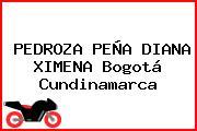 PEDROZA PEÑA DIANA XIMENA Bogotá Cundinamarca