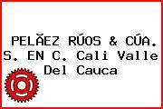 PELÃEZ RÚOS & CÚA. S. EN C. Cali Valle Del Cauca