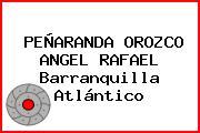 PEÑARANDA OROZCO ANGEL RAFAEL Barranquilla Atlántico