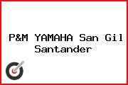 P&M YAMAHA San Gil Santander