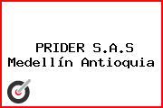 PRIDER S.A.S Medellín Antioquia