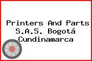 Printers And Parts S.A.S. Bogotá Cundinamarca