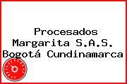 Procesados Margarita S.A.S. Bogotá Cundinamarca