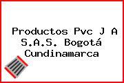 Productos Pvc J A S.A.S. Bogotá Cundinamarca
