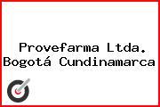 Provefarma Ltda. Bogotá Cundinamarca